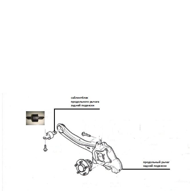 Замена сайлентблока заднего продольного рычага форд фокус