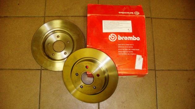 Тормозные диски на форд фокус 2 замена